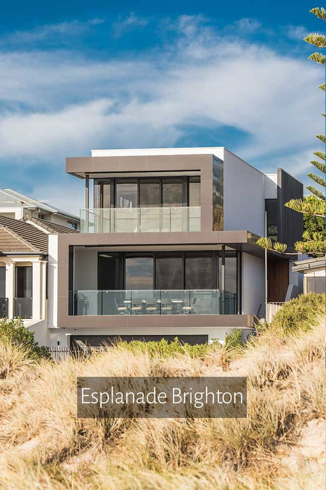 Custom Designed Home Brighton Esplanade